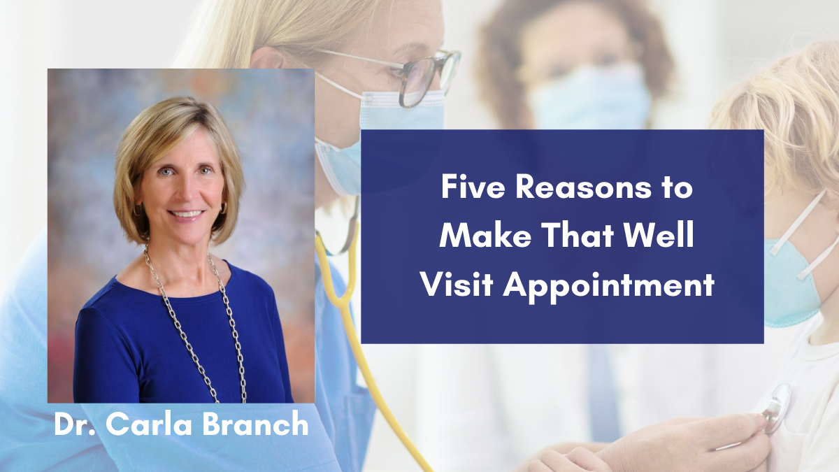 well visit appointment
